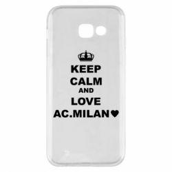 Чохол для Samsung A5 2017 Keep calm and love AC Milan
