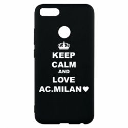 Чохол для Xiaomi Mi A1 Keep calm and love AC Milan