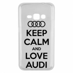 Чехол для Samsung J1 2016 Keep Calm and Love Audi