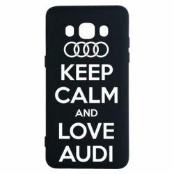 Чехол для Samsung J5 2016 Keep Calm and Love Audi
