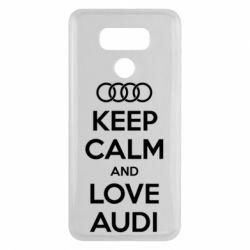 Чехол для LG G6 Keep Calm and Love Audi - FatLine