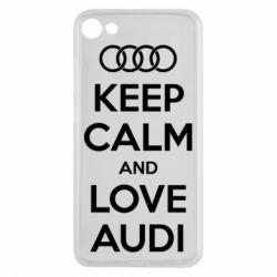 Чехол для Meizu U10 Keep Calm and Love Audi - FatLine