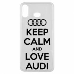 Чехол для Samsung A6s Keep Calm and Love Audi