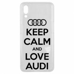 Чехол для Meizu E3 Keep Calm and Love Audi - FatLine