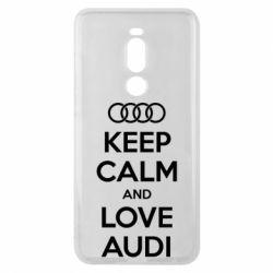 Чехол для Meizu Note 8 Keep Calm and Love Audi - FatLine