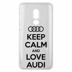 Чехол для Meizu V8 Keep Calm and Love Audi - FatLine