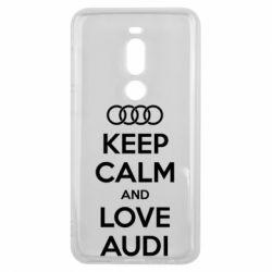 Чехол для Meizu V8 Pro Keep Calm and Love Audi - FatLine