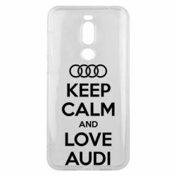 Чехол для Meizu X8 Keep Calm and Love Audi - FatLine