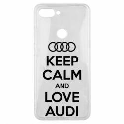 Чехол для Xiaomi Mi8 Lite Keep Calm and Love Audi