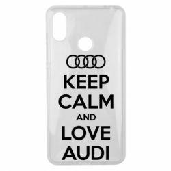 Чехол для Xiaomi Mi Max 3 Keep Calm and Love Audi - FatLine