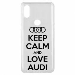 Чехол для Xiaomi Mi Mix 3 Keep Calm and Love Audi - FatLine
