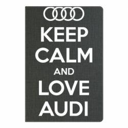 Блокнот А5 Keep Calm and Love Audi