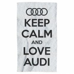 Полотенце Keep Calm and Love Audi