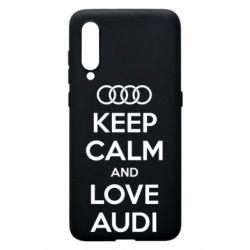 Чехол для Xiaomi Mi9 Keep Calm and Love Audi