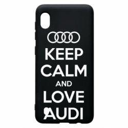 Чехол для Samsung A10 Keep Calm and Love Audi