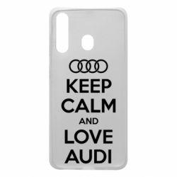 Чехол для Samsung A60 Keep Calm and Love Audi