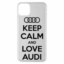 Чехол для iPhone 11 Pro Max Keep Calm and Love Audi