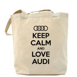 Сумка Keep Calm and Love Audi - FatLine