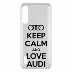 Чохол для Xiaomi Mi A3 Keep Calm and Love Audi