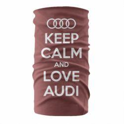 Бандана-труба Keep Calm and Love Audi