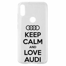 Чехол для Xiaomi Mi Play Keep Calm and Love Audi