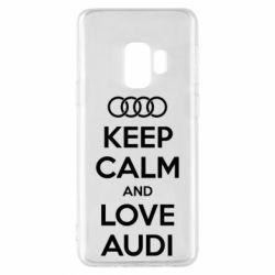Чехол для Samsung S9 Keep Calm and Love Audi