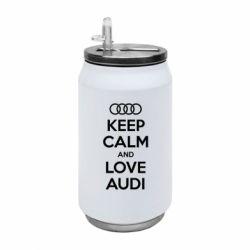 Термобанка 350ml Keep Calm and Love Audi