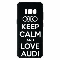 Чехол для Samsung S8 Keep Calm and Love Audi