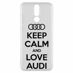 Чехол для Huawei Mate 10 Lite Keep Calm and Love Audi - FatLine