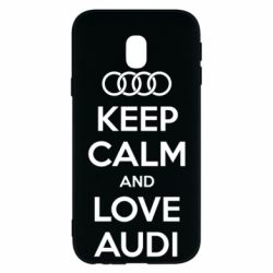 Чехол для Samsung J3 2017 Keep Calm and Love Audi