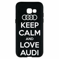 Чехол для Samsung A5 2017 Keep Calm and Love Audi