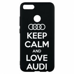 Чехол для Xiaomi Mi A1 Keep Calm and Love Audi