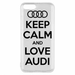 Чехол для Xiaomi Mi6 Keep Calm and Love Audi