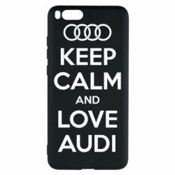 Чехол для Xiaomi Mi Note 3 Keep Calm and Love Audi - FatLine