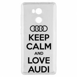 Чехол для Xiaomi Redmi 4 Pro/Prime Keep Calm and Love Audi - FatLine
