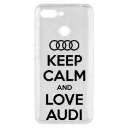 Чехол для Xiaomi Redmi 6 Keep Calm and Love Audi - FatLine