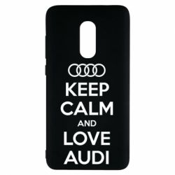 Чехол для Xiaomi Redmi Note 4 Keep Calm and Love Audi - FatLine