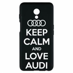 Чехол для Meizu M6s Keep Calm and Love Audi - FatLine