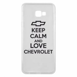 Чохол для Samsung J4 Plus 2018 KEEP CALM AND LOVE CHEVROLET