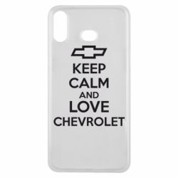 Чохол для Samsung A6s KEEP CALM AND LOVE CHEVROLET