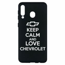 Чохол для Samsung M30 KEEP CALM AND LOVE CHEVROLET