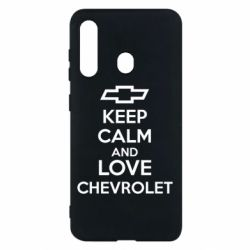 Чохол для Samsung M40 KEEP CALM AND LOVE CHEVROLET