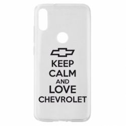 Чохол для Xiaomi Mi Play KEEP CALM AND LOVE CHEVROLET