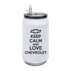 Термобанка 350ml KEEP CALM AND LOVE CHEVROLET