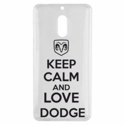 Чехол для Nokia 6 KEEP CALM AND LOVE DODGE - FatLine
