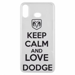 Чехол для Samsung A6s KEEP CALM AND LOVE DODGE - FatLine