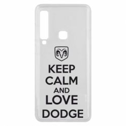 Чехол для Samsung A9 2018 KEEP CALM AND LOVE DODGE - FatLine