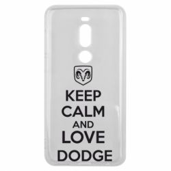 Чехол для Meizu V8 Pro KEEP CALM AND LOVE DODGE - FatLine