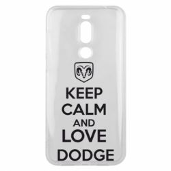 Чехол для Meizu X8 KEEP CALM AND LOVE DODGE - FatLine