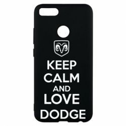 Чехол для Xiaomi Mi A1 KEEP CALM AND LOVE DODGE - FatLine